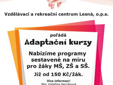 Adaptační kurzy na Lesné