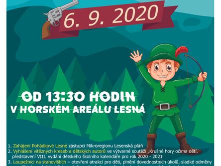 Pohádková Lesná 2020