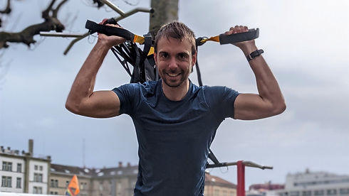 Bruce Maidment qualified personal trainer and bootcamp instructor Zürich