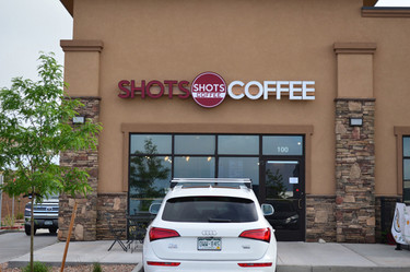 ShotsCoffee Colorado Springs, CO at Northgate in the Polaris Point Shopping Center