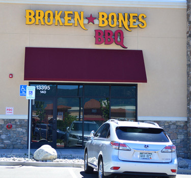 Broken Bones BBQ Colorado Springs, CO Voyager Parkway in Northgate, near Sprouts Market