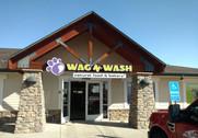 WagNWash - Monument, Colorado Logo Contoured Cabinet, Channel Letters, Capsule