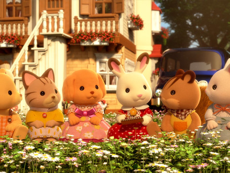 Sylvanian Families - Now on Netflix!