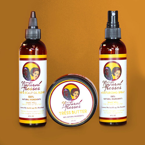 Natural Tresses Combo Pack