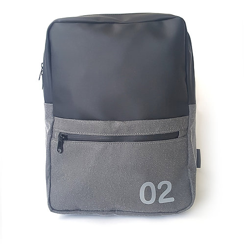 "0205 Backpack 13""-Black Matt"