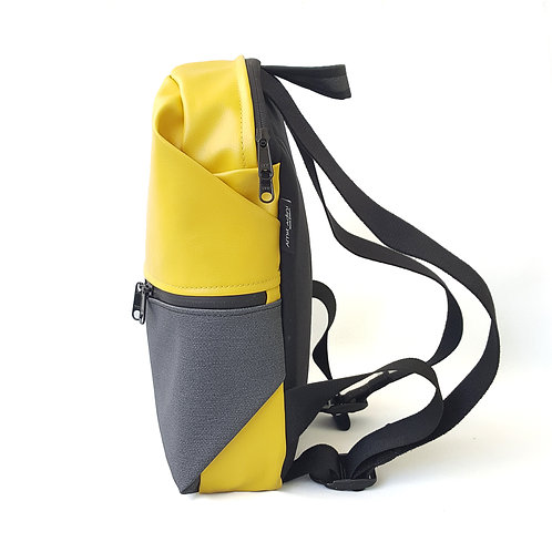 Trempy Backpack -Split Yellow