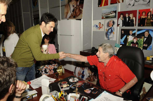 Niko and Jerry Lewis