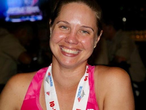Finger Pricking - Running a Marathon with Diabetes