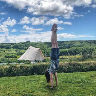Handstand Practicing