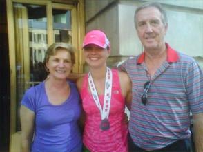Chicago Marathon with Mom and Dad