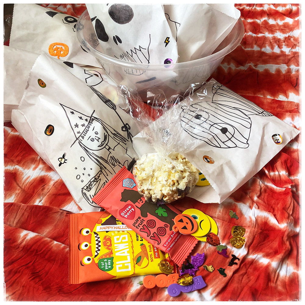 Trick-or-treat Halloween Bags