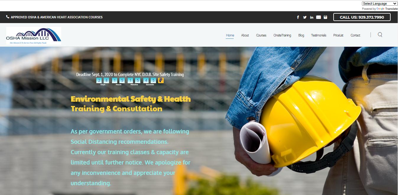 OSHA Mission LLC