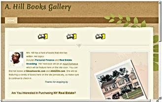 Author Websites