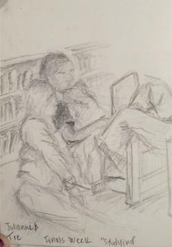 Julianne & Tre, finals week