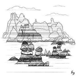 Goblin Valley doodle