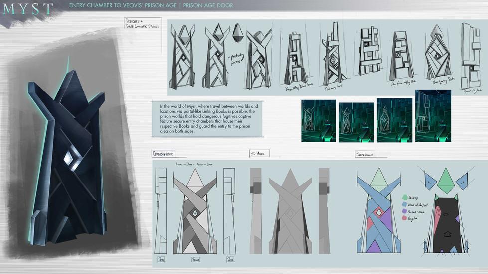 Myst: Veovis Prison Age | Prison Age Door