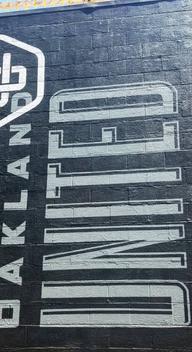 Oakland United Beerworks mural