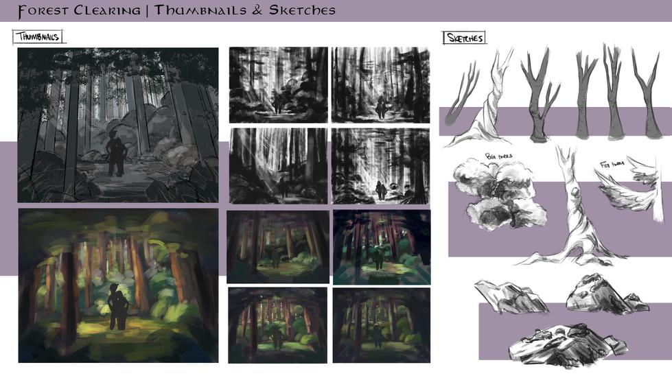 Enchanting Forest Background
