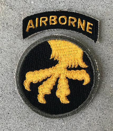 WWII 17th Airborne Division 2 Piece Patch