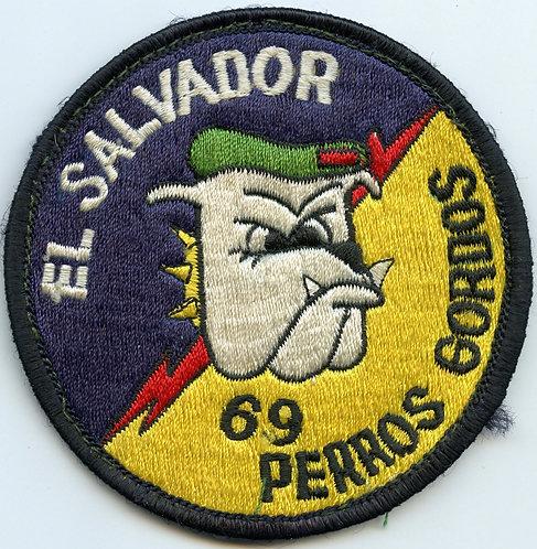 "3rd Battalion 7th Special Forces Group El Salvador MTT ""Fat Dogs"" Patch"