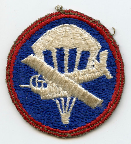 German Occupation Made Airborne Combined Glider Parachute Cap Patch