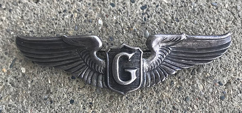 WWII Sterling Glider Pilot Pin Back Wing