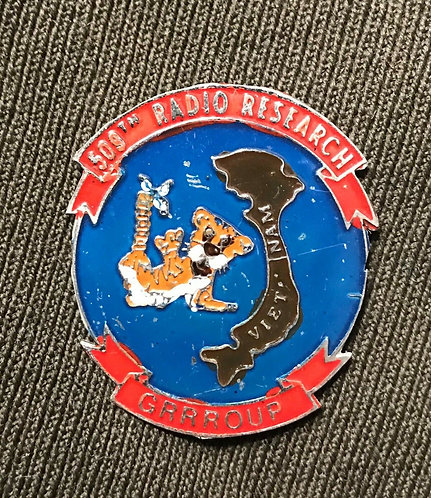 Vietnam War 509th Radio Research Group Small Plaque Piece