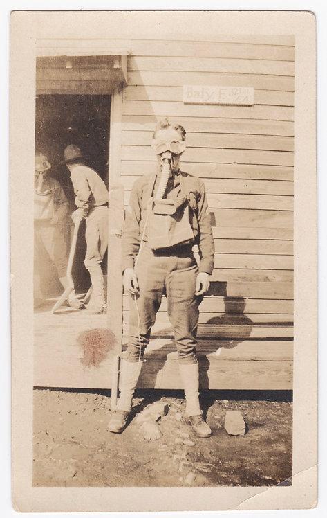 WWI SGT James Henderson Battery B 321st Field Artillery BN 82nd DIV Photo