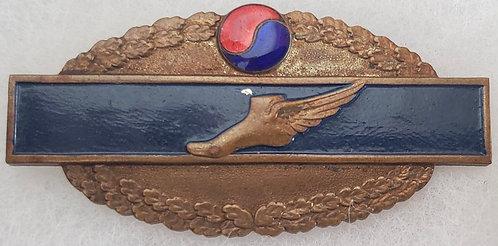 Korean War UNPFK Tactical Liaison Office Line Crosser Badge
