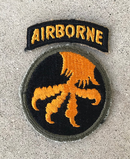 WWII 17th Airborne Division 2 Patch