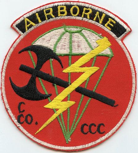 Vietnam War MAC V SOG CCC C-Company Hatchet Force Pocket Patch