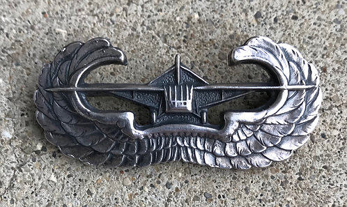 WWII Sterling Pin Back Glider Wing