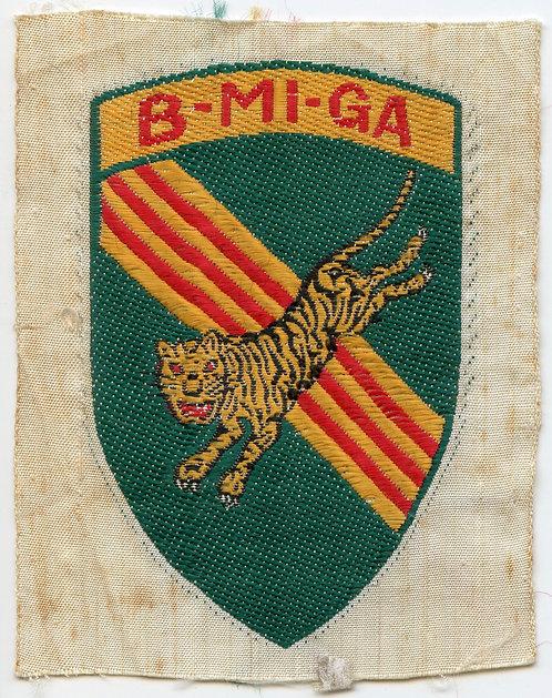 Vietnam War 5th Special Forces Group CIDG Buon Mi Ga Mobile Guerrilla Force
