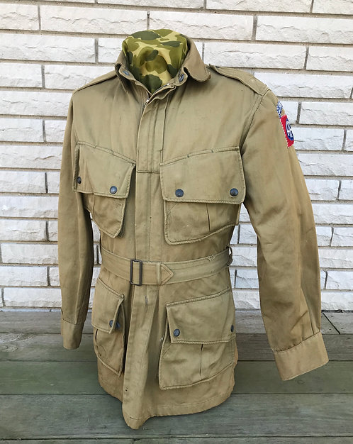 WWII 82nd Airborne Division M-42 Jump Jacket