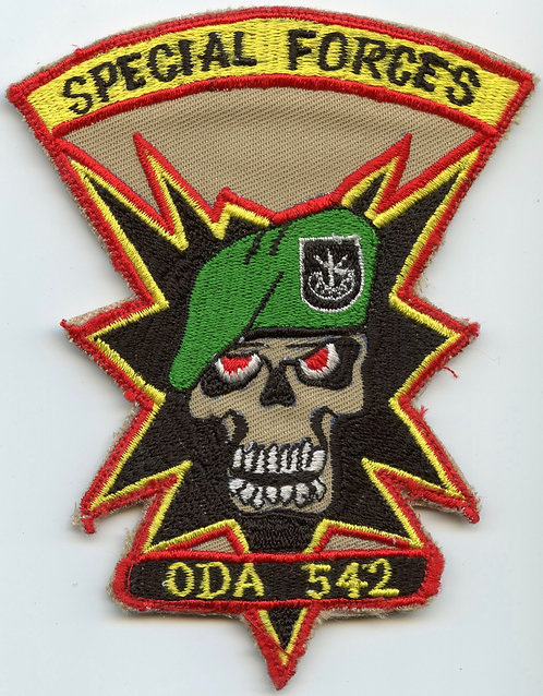 Iraqi Made ODA-542 5th Special Forces Group Patch Named