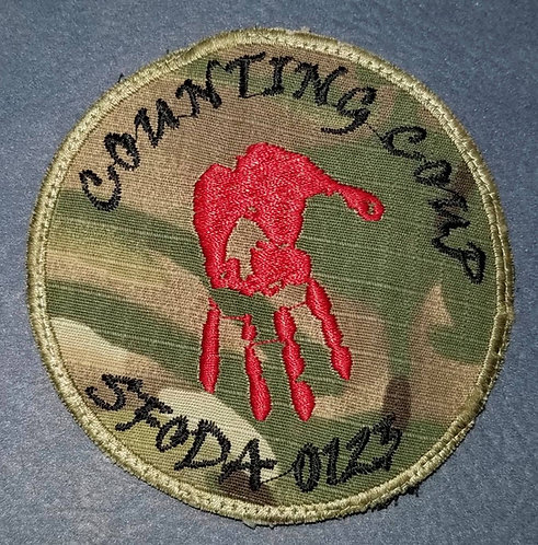 ODA-0123 10th Special Forces Group (A) Patch