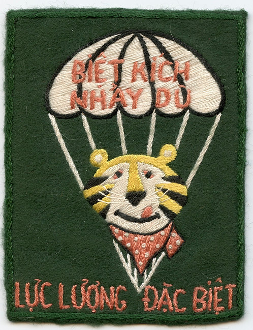 Vietnam War Luc Luong Dac Biet (LLDB) Tony The Tiger Patch