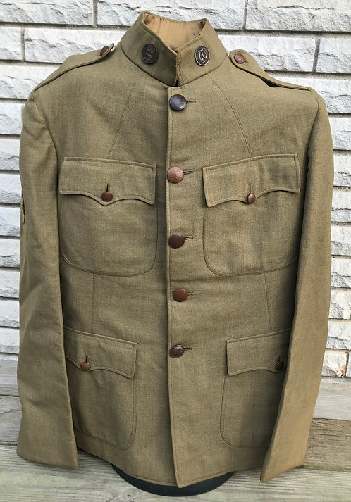 WWI Uniform Named To J.D. Girard 82nd Division Camp Gordon Georgia