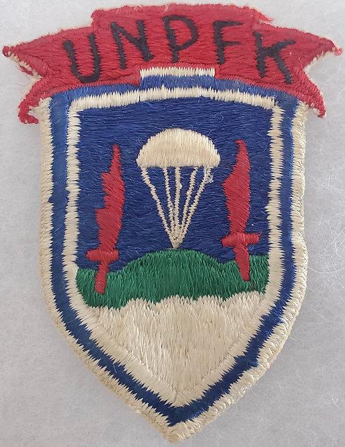 Korean War United Nations Partisan Forces Korea UNPFK Patch