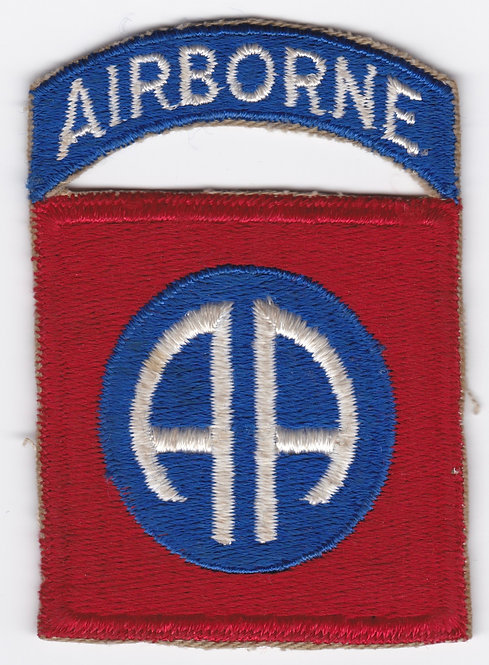 WWII 82nd Airborne Division 1 Piece Patch