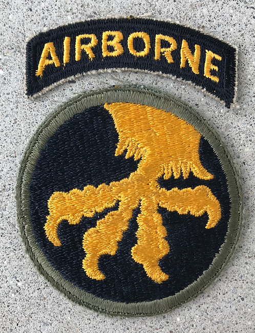 WWII 17th Airborne Division Patch