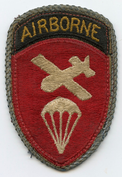 WWII Airborne Command Patch With Infantry Piping