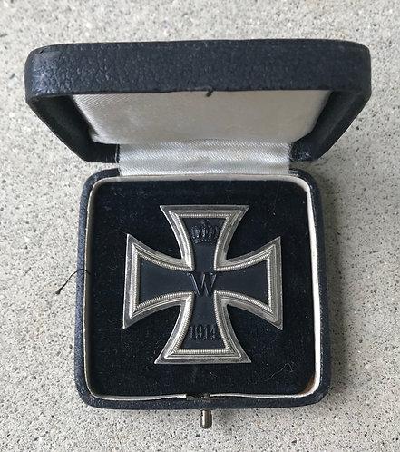 World War One Cased German 1914 Iron Cross FirstClass