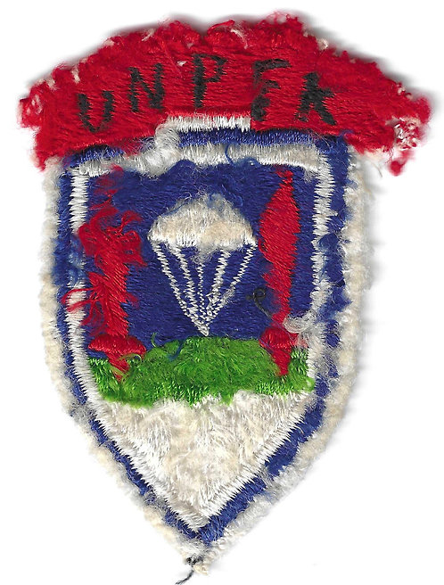 Named Uniform Removed United Nations Partisan Forces Korea Patch