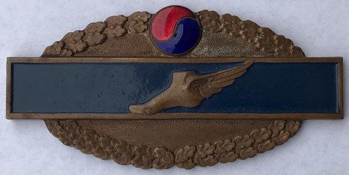 United Nations Partisan Forces Korea Tactical Liaison Office Line Crosser Badge
