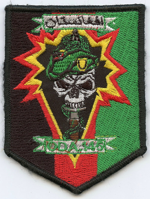 Afghan made ODA-145 1st SFG Merrow Edge Patch