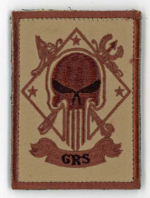 CIA Global Response Staff (GRS) Ground Branch Punisher Patch 3