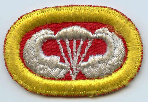 WWII 464th Parachute Field Artillery Battalion Jump Wing Oval