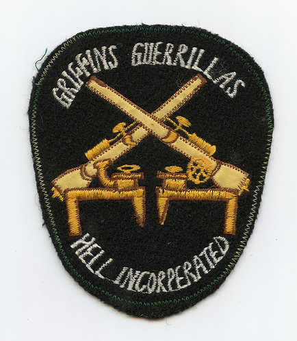 Griffins Guerrillas Hell Incorperated Pocket Patch