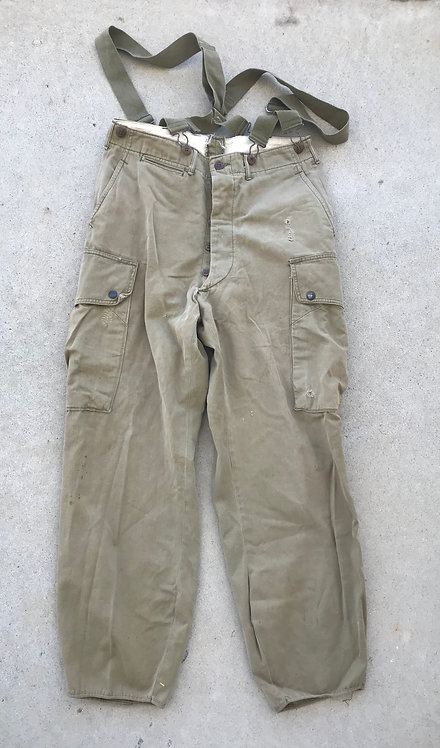 WWII M-42 Paratrooper Jump Pants